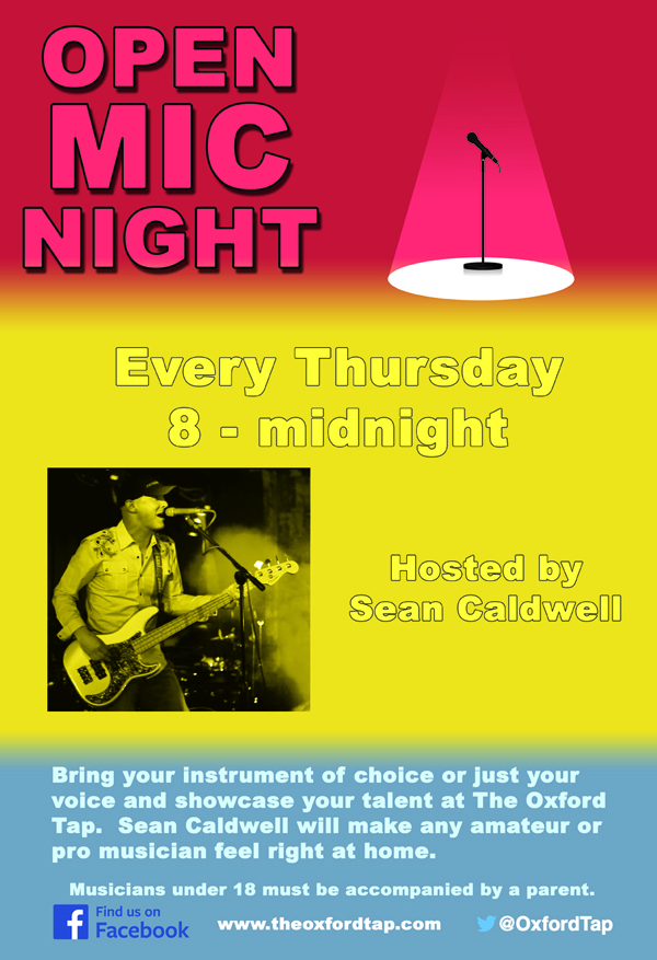 Open Mic Night Thursday